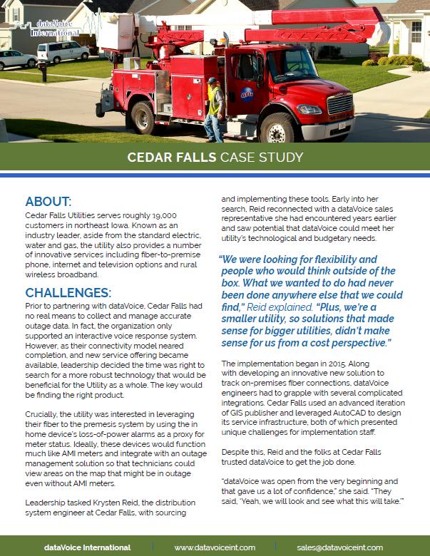 Cedar Falls case-study