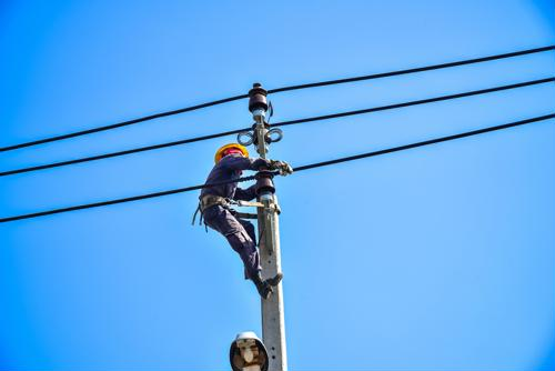 Electric companies should devote considerable resources to preventing slips, trips and falls in the field.