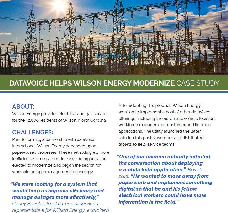 Wilson Energy case-study