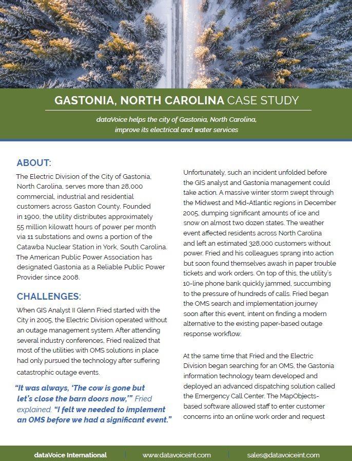 Gastonia case-study